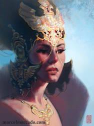 Queen Regent by marcel-mercado