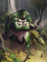 Tyranny Dragons Troll Hunter by marcel-mercado