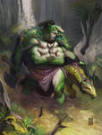 Tyranny Dragons Troll Hunter