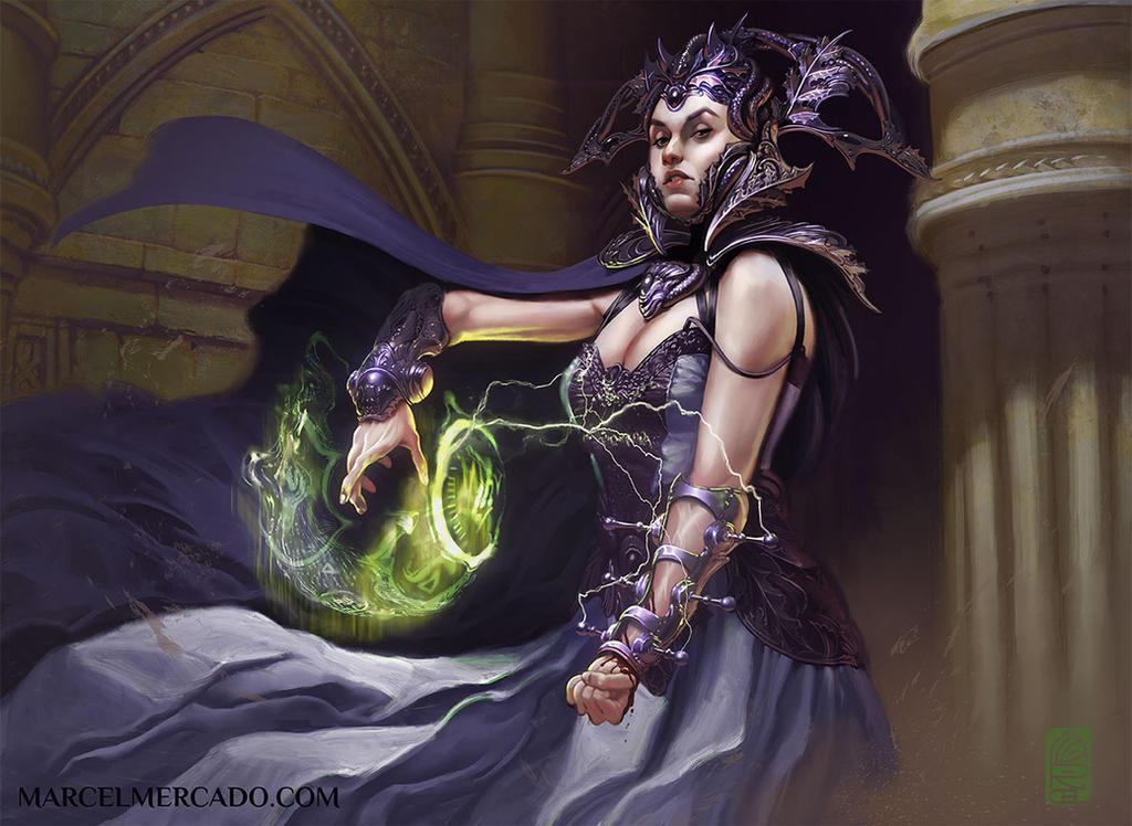 Blood Magic by marcel-mercado