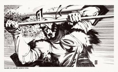 Warrior by marcel-mercado