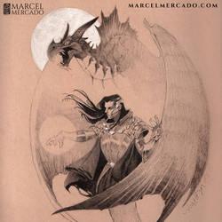 Dragon Summoner by marcel-mercado