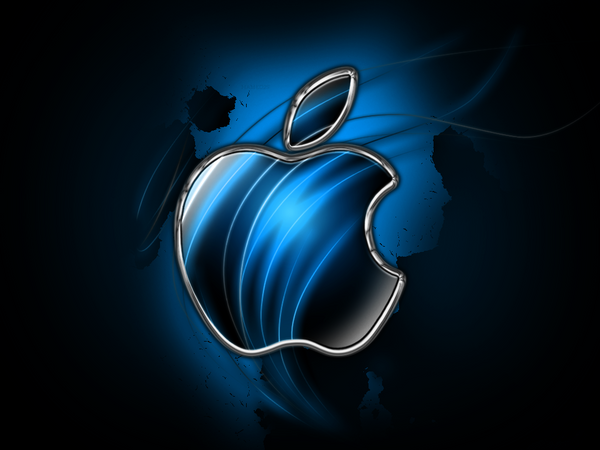 BLUE APPLE Wallpaper > Apple Wallpapers > Mac Wallpapers > Mac Apple Linux Wallpapers