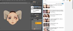 Face Texturing Tips by Vusiuz