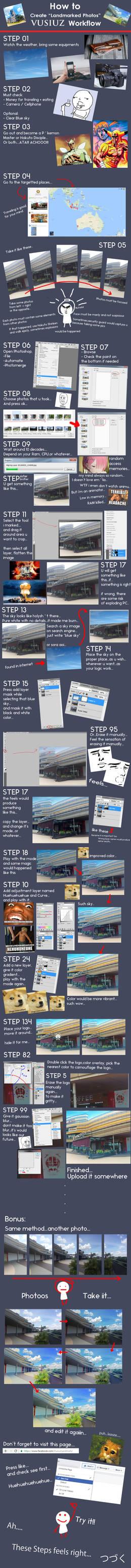 Vusiuz Workflow: How to Create Landmarked Photos!