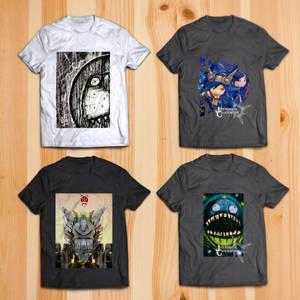 T-Shirt Mock Up by Vusiuz