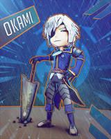 Okamimi - Okami Lavendar by Vusiuz