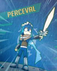Perceval Whiteflower by Vusiuz