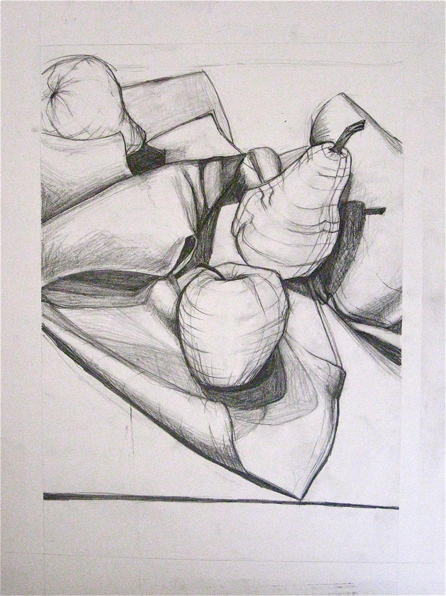 Contour Line Drawing Of Fruit : Contour of fruit by kastina on deviantart