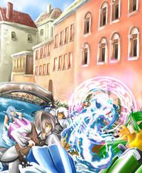 Quon-Minetta Alliance Mission by yami-izumi