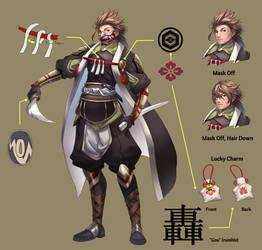 Goa - Raikou's Reference Sheet by yami-izumi