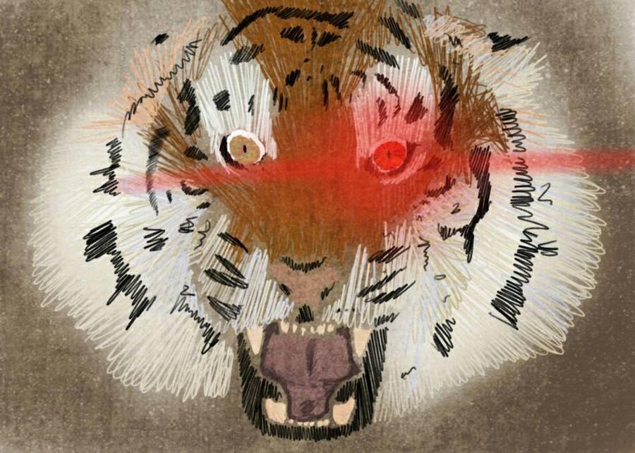 eye of the tiger by DashaHam