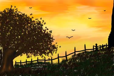 sunset funset by ramkumariyer