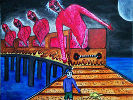 Express of Departing Innocence by ramkumariyer