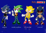 Evil Sonic Characters
