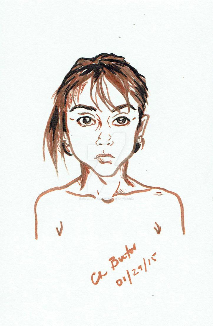 Little girl by C-L-Bjolyar