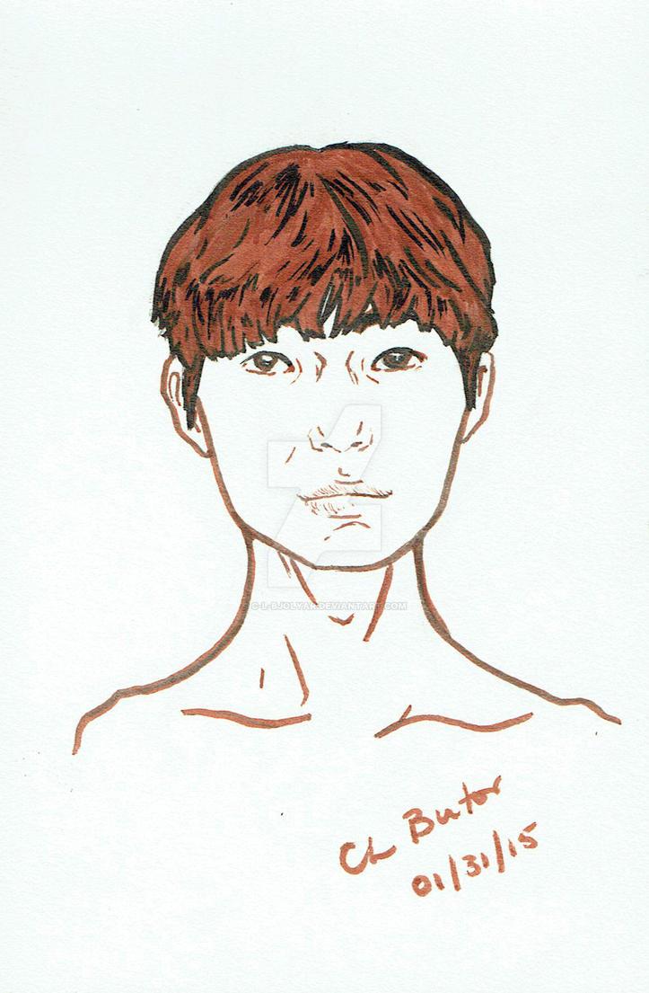 Asian teenage boy by C-L-Bjolyar