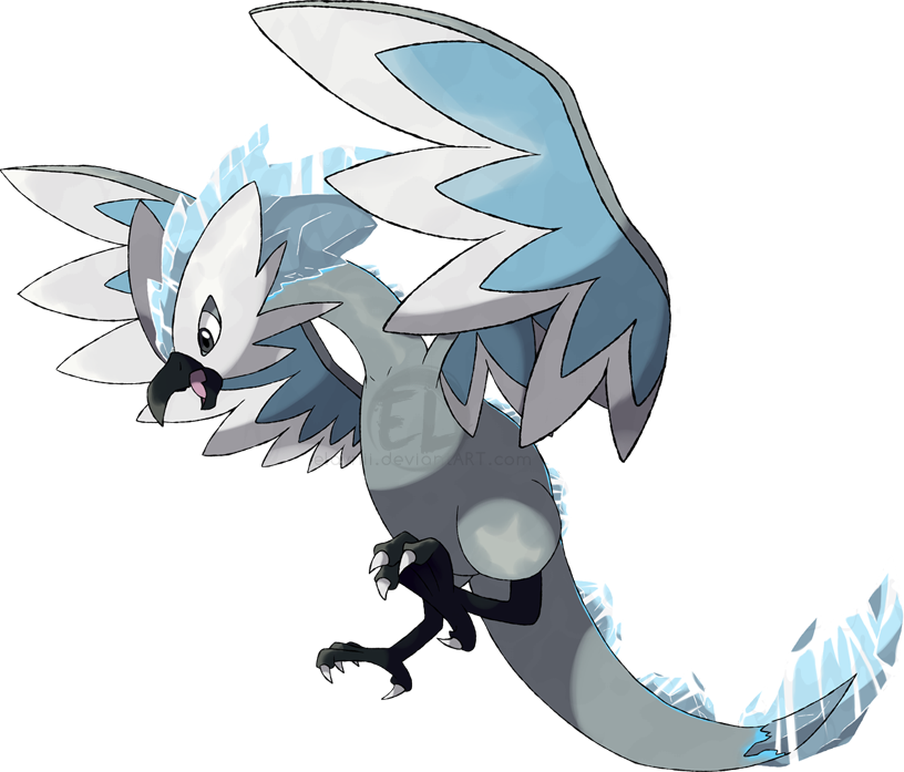 Gallery For gt Mega Articuno