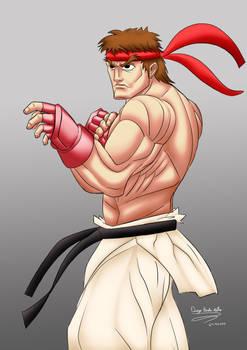Ryu fan art and study