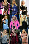 Pregnant Carrie Underwood collage