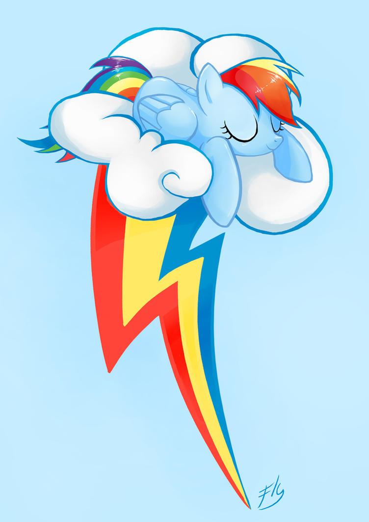 avatar_Blue Cute Pegasus