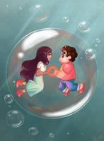 Steven universe: bubble buddy by Pearlie-pie