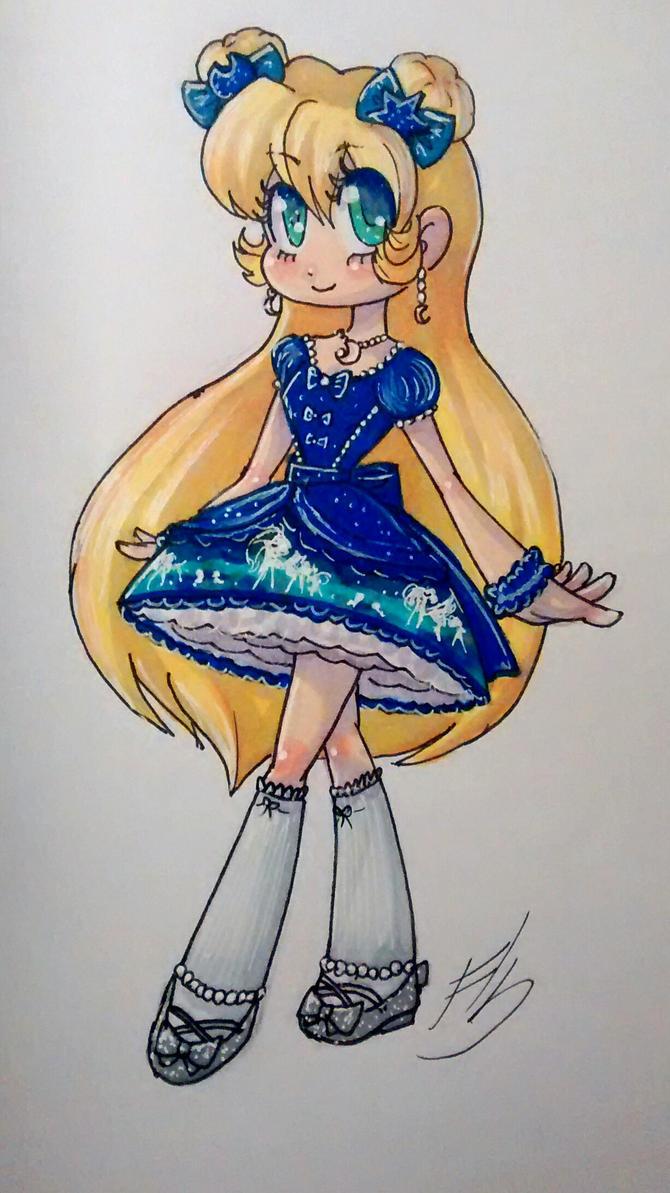 Unicorn princess by Pearlie-pie