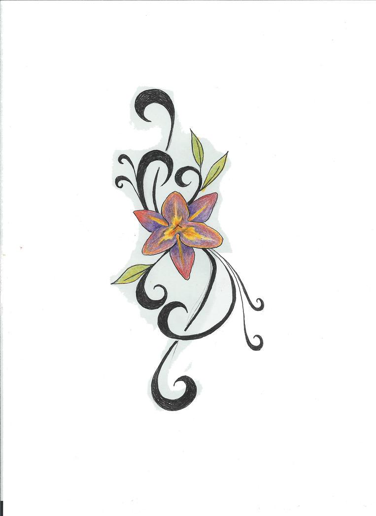 Flower Tattoo By Fletcherbj On Deviantart