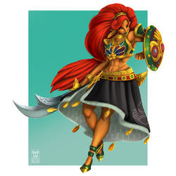 Lady Urbosa by MaskedGolem