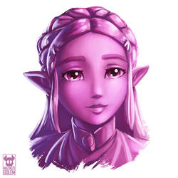 Zelda - Cherry Blossom Palette by MaskedGolem