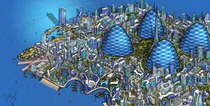Gyre City by thormemeson
