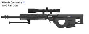 M-90 Linear Sniper Rifle