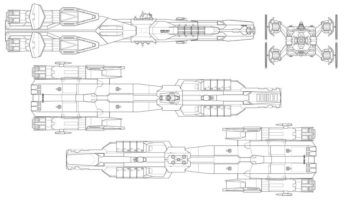 Warrior class Destroyer