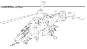 MH-98 Kestrel by thormemeson