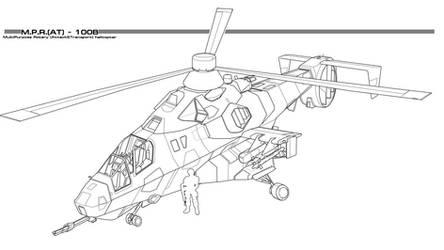 MH-98 Kestrel by thormemeson