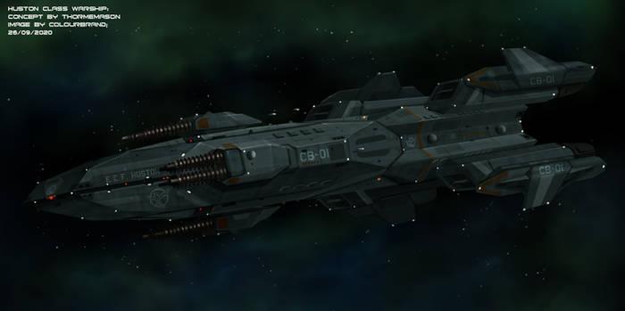 Huston Class Battle Cruiser