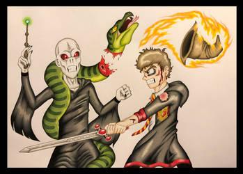 Neville's Bravery by The-Potter-Artist
