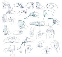 Hand Practise III by YokoKaneko