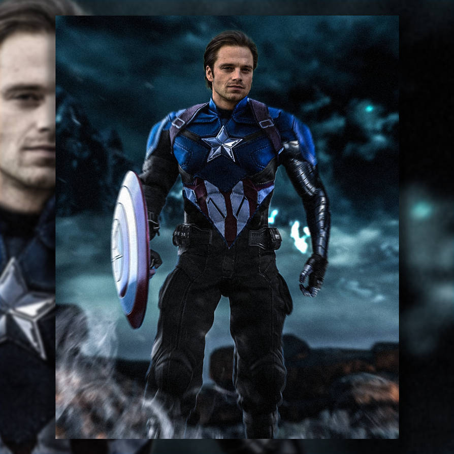 Bucky Barnes Captain America by Spider-maguire on DeviantArt
