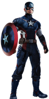 ANAD Captain America NEW FULL BODY by Spider-maguire