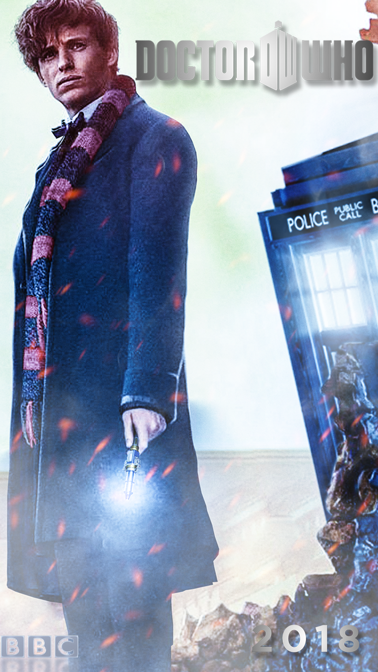 Eddie Redmayne The 13th Doctor Iphone Wallpaper By Spider Maguire
