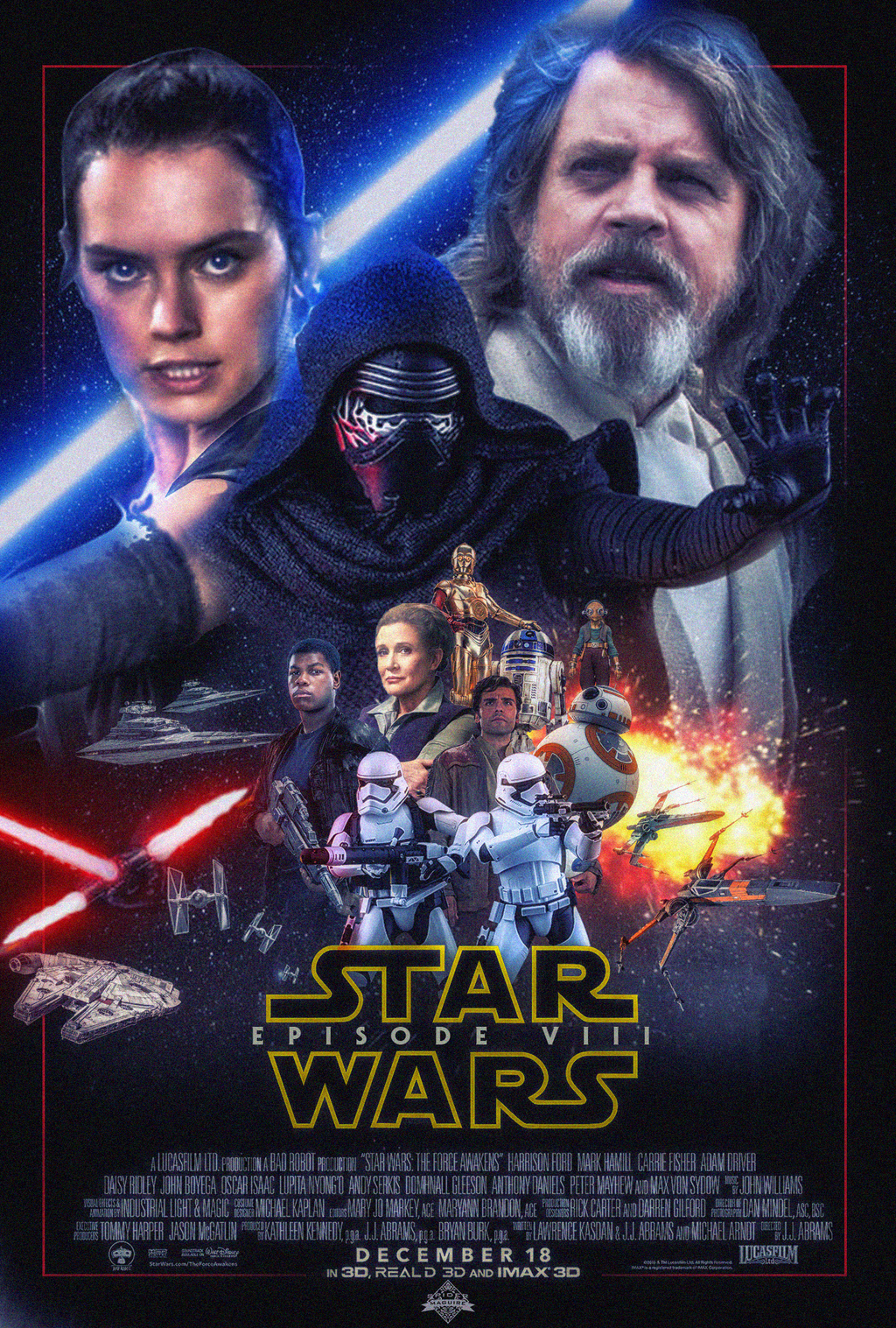 Star Wars Episdoe 8 Poster v2 by Spider-maguire on DeviantArt