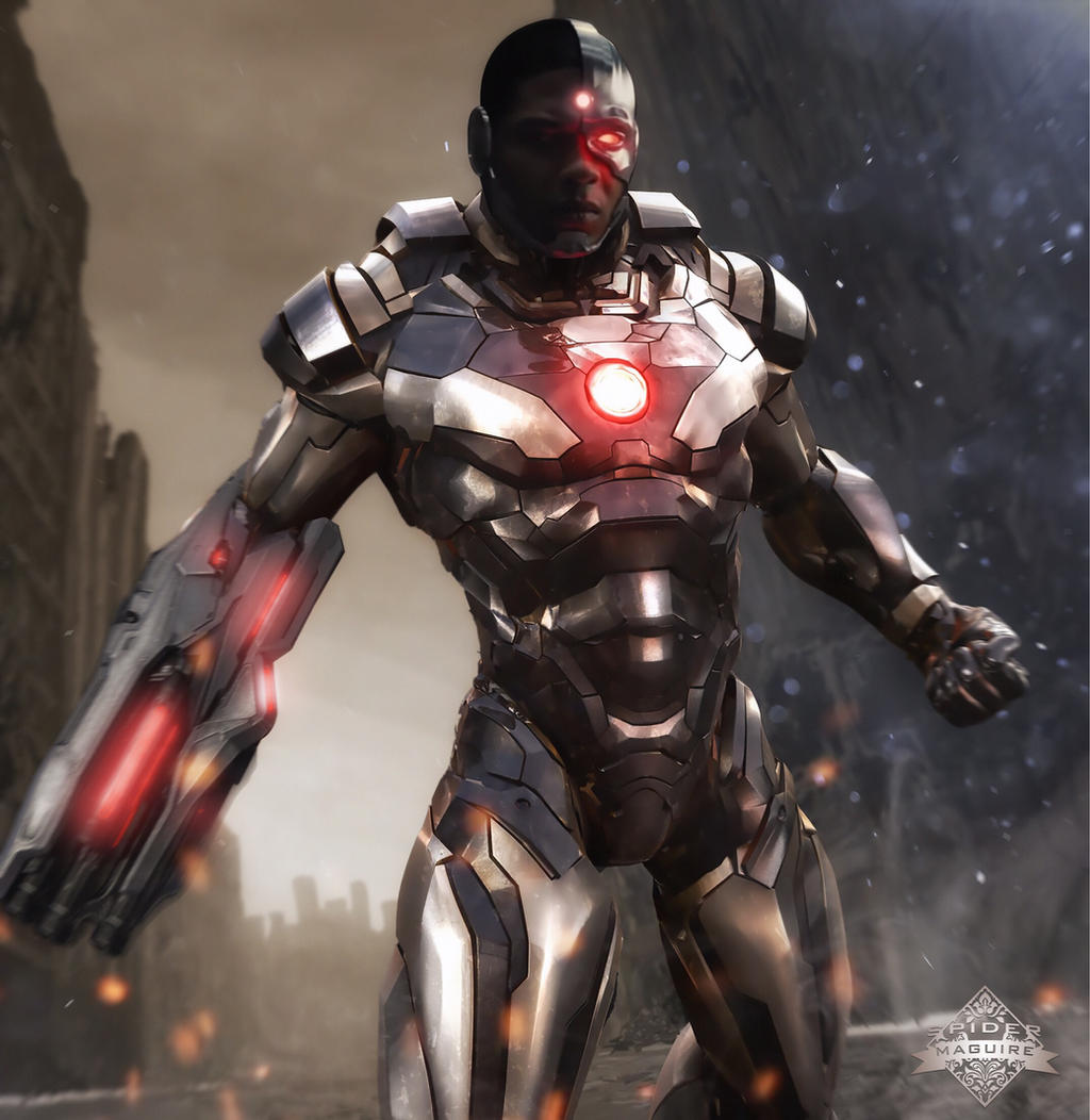 DCEU Cyborg by Spider-maguire