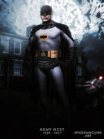 Adam West Batman Rest in peace  by Spider-maguire