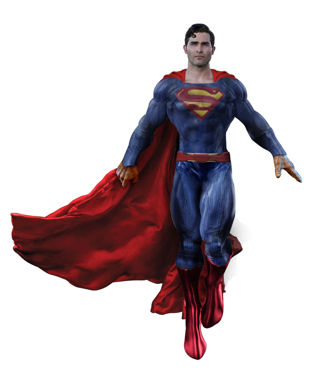 Tyler Hoechlin Superman Transparent by Spider-maguire on ...