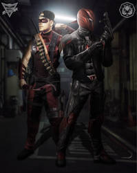 Red hood/Arsenal Mask version  by Spider-maguire