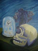 Death Waits by w0rmwood