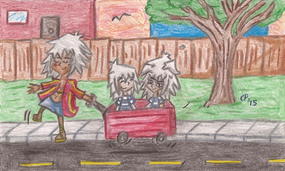 Little Red Wagon by InvdrDana