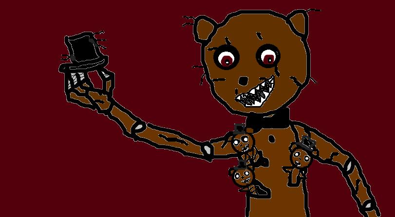 Nightmare Freddy by devvieartmanIII