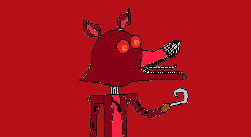 Nightmare Foxy by devvieartmanIII